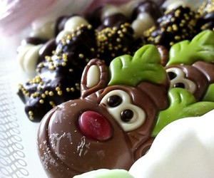 candy, meringue, and chocolate image