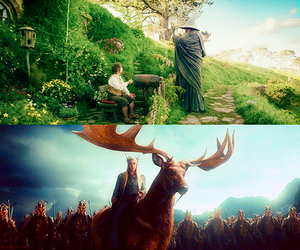 bilbo, middle earth, and thranduil image