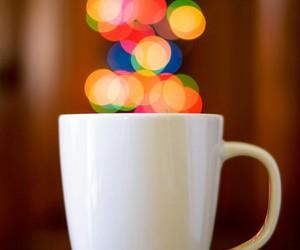 cup, light, and mug image