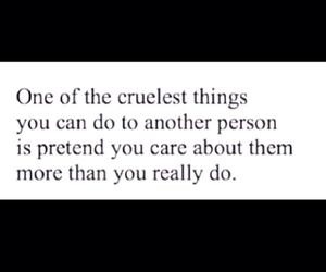care, cruel, and depression image