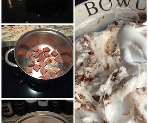 brown, chocolate, and cooking image