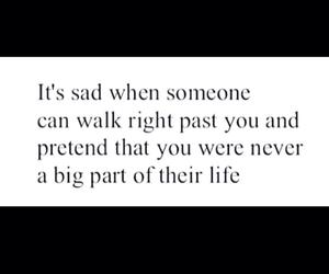 sad, quote, and life image