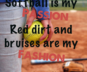 fashion, softball, and red dirt image