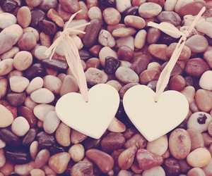 heart, love, and sand image