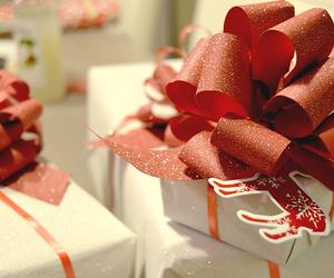 bowl, christmas, and gifts image