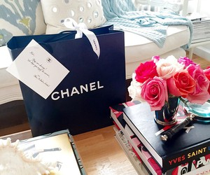 chanel, gift, and bag image