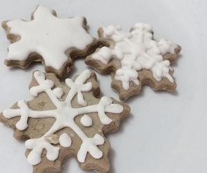 christmas, Cookies, and drinks image
