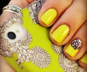 design, nail, and nails image