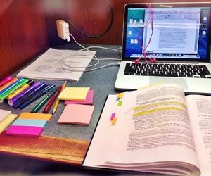 study and computer image