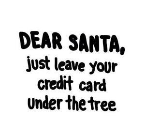 christmas, santa, and quotes image