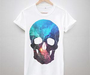 skull and tshirt image