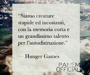 hunger games and frasi italiane image