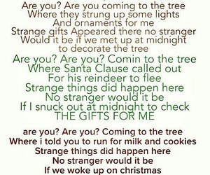 christmas, funny, and Lyrics image