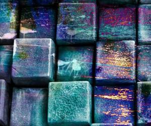 blue, bright, and brick image