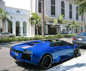 car and blue image