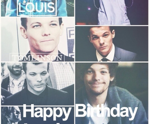 happy birthday and louis tomlinson image