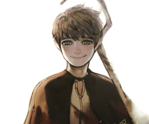 jack frost, drawing, and rise of the guardians image