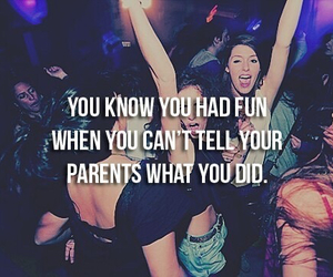 party, fun, and parents image