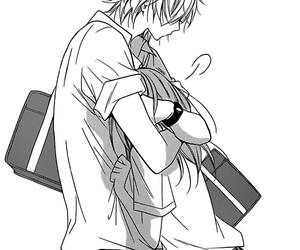 amazing, black &white, and manga image