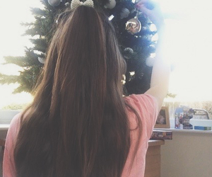 baubles, brunette, and ariana image