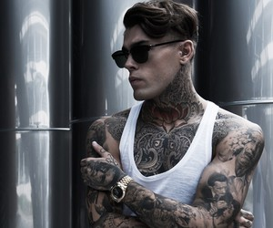 model, stephen james, and Tattoos image