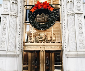 beautiful, christmas, and gold image