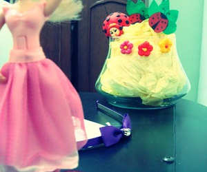 barbie, pink, and ballet image