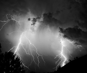 sky, lightning, and photography image