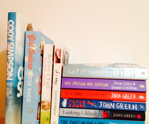 books, inspirations, and john green image