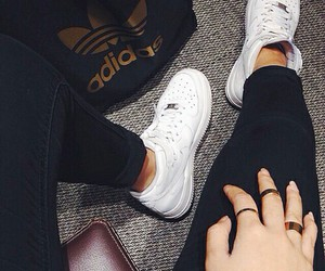 adidas, black, and nice image