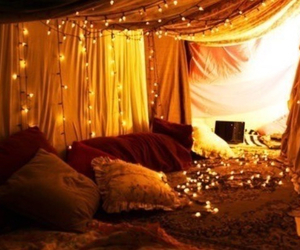bedroom, christmas, and cute image