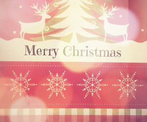 beautiful, merry christmas, and santa claus image