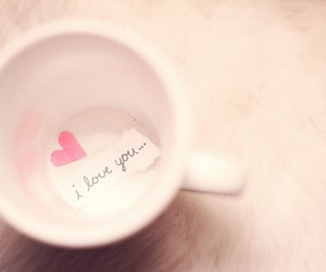cup and love image