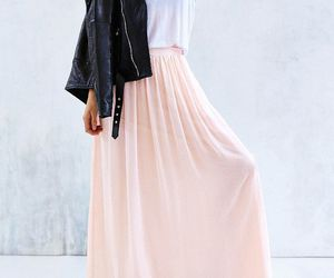 class, fashion, and skirt image