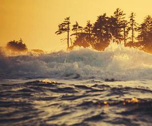 ocean, summer, and wave image