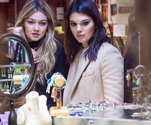 kendall jenner, gigi hadid, and friends image