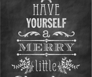 christmas, merry, and quote image