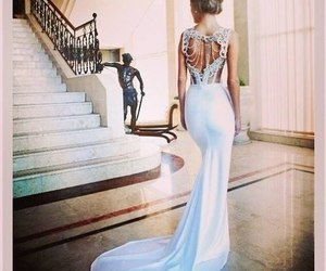 amazing, dress, and hairstyle image