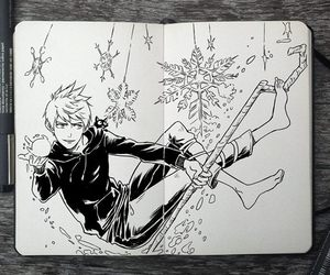doodle, draw, and jack frost image