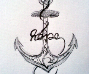 anchor, anchor tattoo, and art image