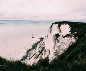 beachy head, vacation, and eastbourne image