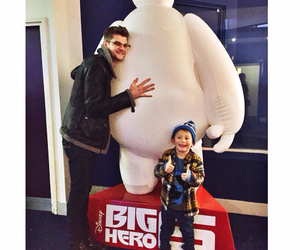 big hero 6, jim champman, and baymax image