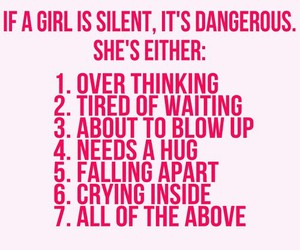girl, quotes, and silent image