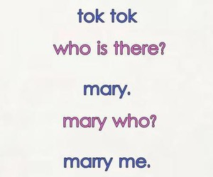 marry me, text, and quote image
