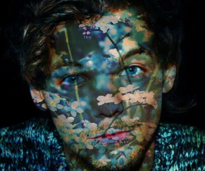 blue, louis tomlinson, and 1d edit image