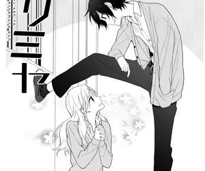 manga, horimiya, and hóri image