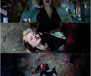 death, sad, and gwen stacy image