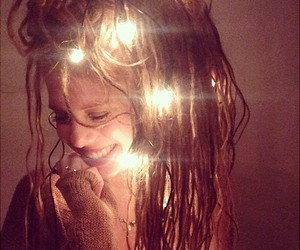light, dreads, and girl image