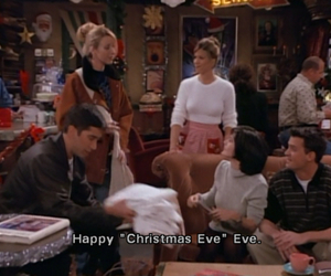 friends, christmas, and christmas eve image