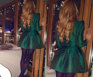 fashion, beautiful, and green image